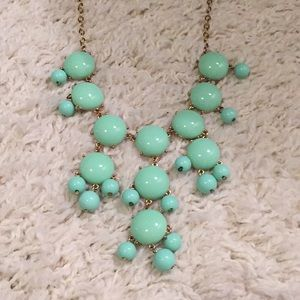 """Jewelry - Mint Green Bubble Necklace 18"""""""